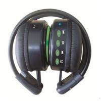 Wholesale Fashion Design and Black Wire Mini FM Wireless Headphones with Memory Function from china suppliers