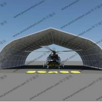 China Large Curve Tent / Curved Tent / Hanger Tent for temporary aircraft maintenance / parking / Storage for sale
