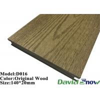 Buy cheap Outdoor Swimming Pool ECO Wood WPC Composite Decking Flooring from wholesalers