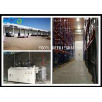 China Large Scale Custom Cold Storage Built In Already Existed Warehouse With Electric Sliding Door for sale