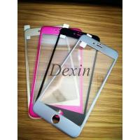 China 3D edge curved tempered glass screen protector for iphone6S for sale
