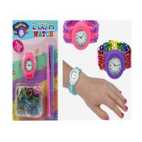 Rainbow Loom Bandz Watch Silicone Wristband Bracelet DIY Loom Watch for sale