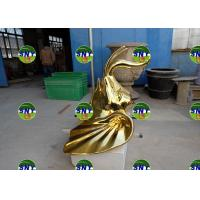 Buy cheap Home deco elephant head wall statue/sculpture as decoration in hotel mall display model from wholesalers