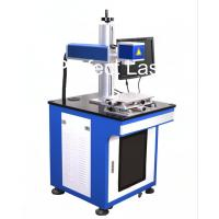 Floor Stand Carbon Steel Laser Marking Equipment With PC , Fiber Laser Printer