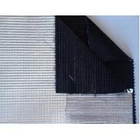 Quality Black A / B & B / B Greenhouse Shade Screen with aluminum stripe , 99.9% shading for sale