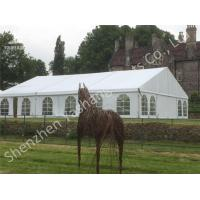 Wholesale White Fabric Cover Aluminum Frame Outdoor Large Party Tents on Grassland from china suppliers