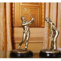 China golf resin Figure sculpture craftwork Decoration on sale
