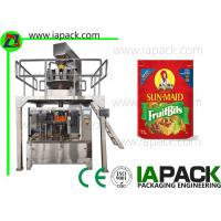 Wholesale Potato Chips Packing Machine Stand Up Pouch Zipper Filler Sealer from china suppliers