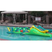 Wholesale Inflatable Outdoor Toys Floating Blow Up Obstacle Course For Water Park from china suppliers