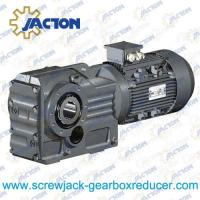 China 7.5HP 5.5KW K Series Helical and bevel helical gear reducers and gearmotors Specifications on sale