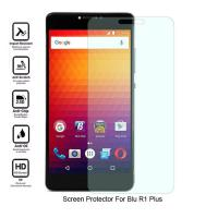 Wholesale No Bubble Blu R1 Plus Clear Screen Guard , Oleophobic Clear Tempered Glass from china suppliers