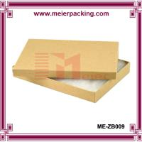 Wholesale Cotton Filled Kraft Color Jewelry Gift and Retail Paper Boxes ME-ZB009 from china suppliers