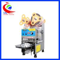 Wholesale Full Automatic Coffee Shop Equipment Bubble Tea Cup Sealing Machine from china suppliers