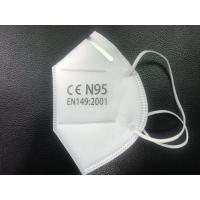 Wholesale Soft N95 Medical Mask Good Air Permeability For Smog Antiviral Protection from china suppliers