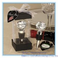 VINEYARD COLLECTION™ CRYSTAL BALL DESIGN WINE STOPPERS for sale