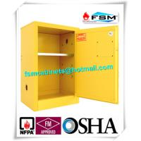 Wholesale Flammable Liquid Safety Storage Cabinets Adjustable Shelf For Chemical Hazardous Goods from china suppliers