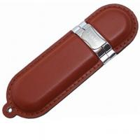Wholesale Personalized Leather USB Flash Drive 16GB With Plug And Play Function from china suppliers