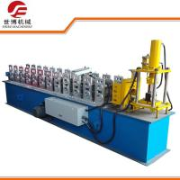 China Easy Move Portable Steel Stud Roll Forming Machine For Steel Construction Material Making on sale