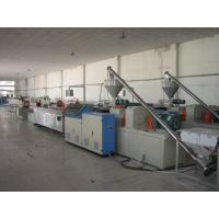PE / PP / HDPE Plastic Sheet Extrusion Machinery Motor 18.5kw-110kw