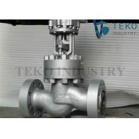 Wholesale Cast Carbon Steel Shut Off Gate Valve Flanged End Pressure Seal ASME B16.34 from china suppliers