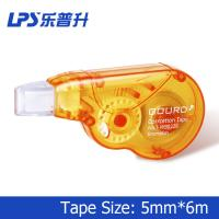 Wholesale 6M Orange Correction Tape Student Stationery Plastic Mini Correction Roller from china suppliers
