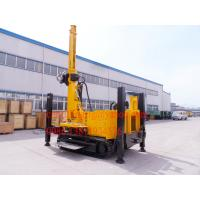 Wholesale Hydraulic Winch Crawler Mounted Water Well Drilling Rig for 90 - 300 mm Big Hole Diameter from china suppliers