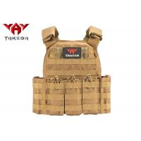 Wholesale Molle Safety Lightweight Tactical Gear Vest / Military Combat Training Bullet Proof Vest from china suppliers