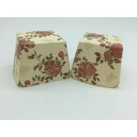 Wholesale Red Rose Flower Floral Square Cupcake Liners Muffin Case Decoration Food Grade Paper from china suppliers