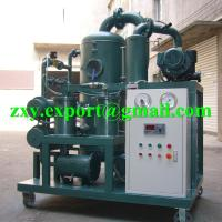 Buy cheap ZYD-50 Double Stage High Vacuum Transformer Oil Treatment Plant from wholesalers