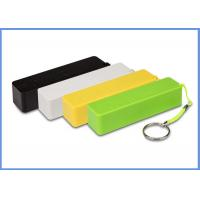 China Colorful Mobile Phones 5V 1A Mobile Power Bank 2600mah Battery , ROHS on sale