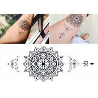 China Full Arm Waterproof Temporary Arm Tattoo Stickers For Women / Men on sale