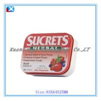 Wholesale mint tin /candy tin container from china suppliers