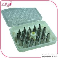 Quality FDA LFGB certificated 16pcs cake decorating tools cake nozzle icing piping for sale