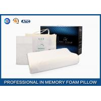 Wholesale Contour Wave Massage Breathable Nature Latex Foam Pillow , Latex International Pillow from china suppliers