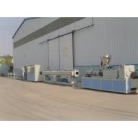 Wholesale Drainage and Water Supply PVC Pipe Extrusion Line / Plastic Extruder from china suppliers