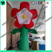 Wholesale Summer Event Decoration Inflatable,Club Decoration Inflatable  Red Flower from china suppliers