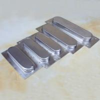 Quality Satin stainless steel rectangular furniture recessed pulls door handle for sale