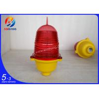 Wholesale low intensity Single aviation obstruction light/red aircraft warning light from china suppliers