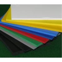 Quality Advertising Outdoor Wall PVC Sheet , Sound Insulated Fire Retardant PVC Sheet for sale