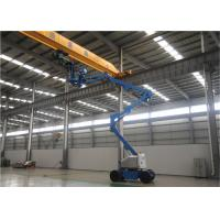 China 2 Man Small Boom Lift , Aerial Lift Equipment 80 Ft Hydraulic Type High Reach for sale