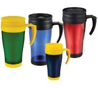 Wholesale Double-wall plastic travel mug ( car cup ) from china suppliers