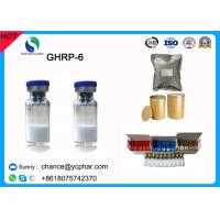 Wholesale Legal Growth Hormone Releasing Peptide GHRP-6/-2 GHRP-6220vial For Muscle Growth Cas 87616-84-0 from china suppliers