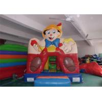 Wholesale Boy Printing Sporting Game Inflatable Bouncer With Basketball Hoop from china suppliers