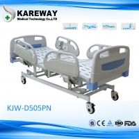 Wholesale Multifunction Electric Hospital Bed With Steel PP ABS Material , 5 Inch Caster from china suppliers