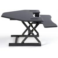 Smart Hydraulic Height Adjustable Standing Desk 36 Inch Cubicle Version for sale