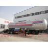 ASME standard lpg semi trailer 571000L propene tank trailer PL tri-axle trailer proplene semi trailer for sale for sale
