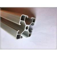 40 X 40 X 1.1mm Extruded Aluminium Profiles 6063 Material For Machinery Parts for sale