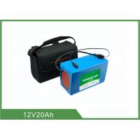 China 12V 20Ah Light weight Solar Light Batteries , Lithium Battery Pack 2 Years Warranty on sale