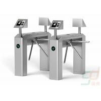 Quality Semi Automatic Tripod Turnstile Security Systems, RFID Waist High Turnstiles for sale