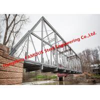 China Multi Span Single Lane Steel Box Girder Bailey Bridges Structural Formwork Truss Construction for sale